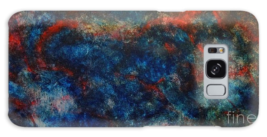 Abstract Galaxy S8 Case featuring the painting Passion by Wayne Cantrell