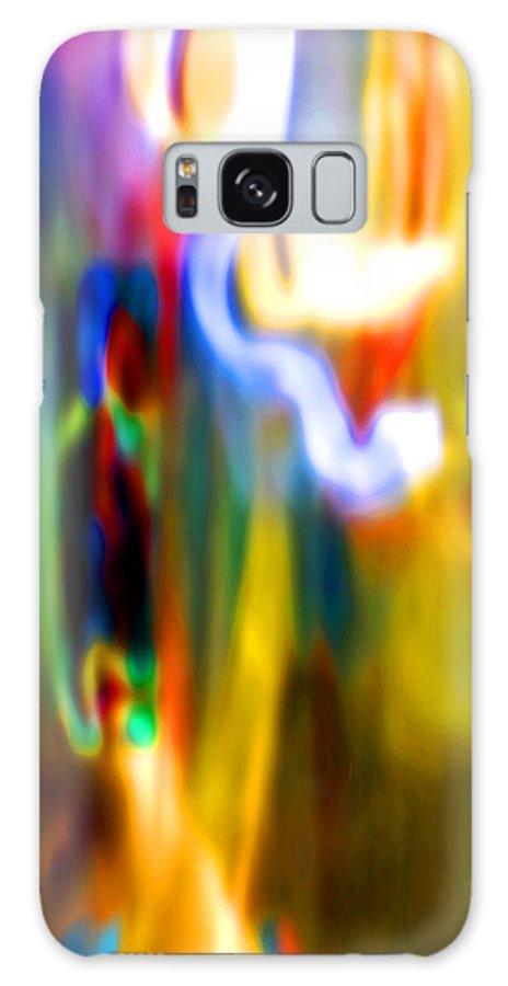 Digital Galaxy S8 Case featuring the digital art Pastel II by John Redfern