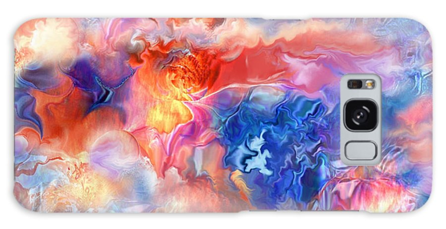 Spano Galaxy S8 Case featuring the painting Pastel Storm By Spano by Michael Spano