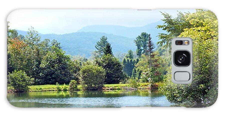 Duane Mccullough Galaxy S8 Case featuring the photograph Pastoral Pond And Valley by Duane McCullough