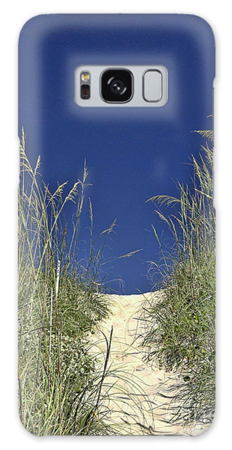 Path Through The Dunes Galaxy S8 Case featuring the photograph Path Through The Dunes by Allen Beatty