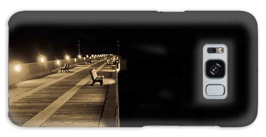 Pier Galaxy S8 Case featuring the photograph Path To Nothingness by Jon Cody