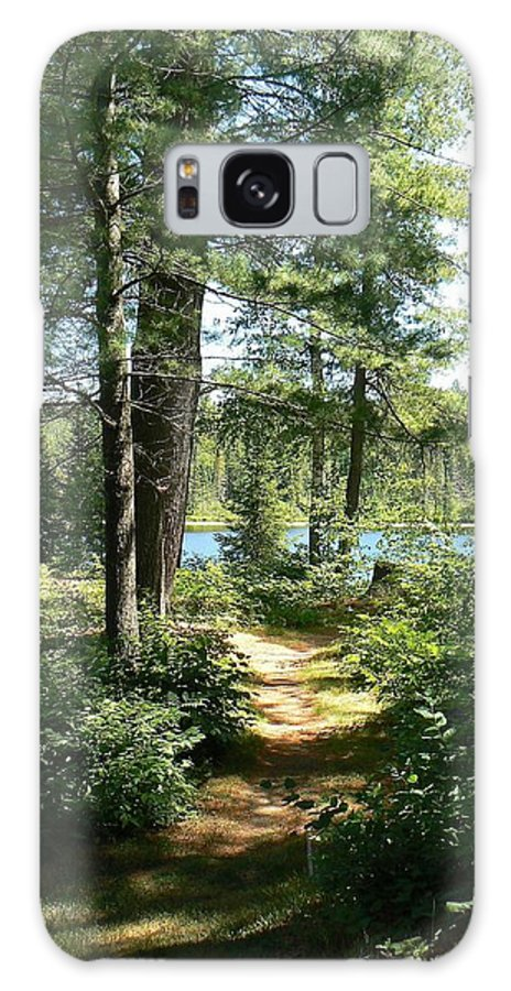 Path Galaxy S8 Case featuring the photograph Path To The Lake by Lorraine Keil