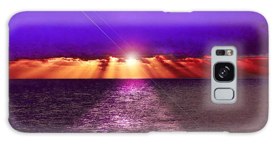 Always Beautiful Galaxy S8 Case featuring the photograph Path To The Sun by Judy Hall-Folde