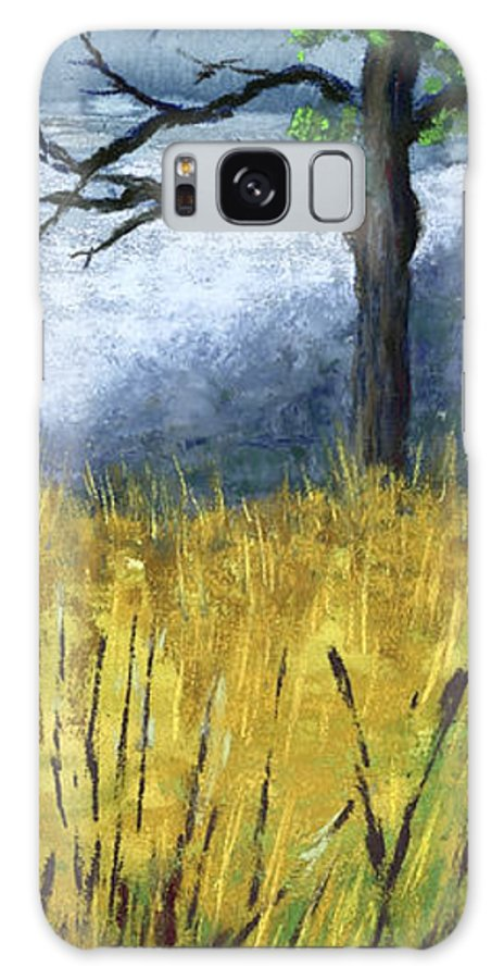 Trees Galaxy S8 Case featuring the painting Pauls Tree by Garry McMichael