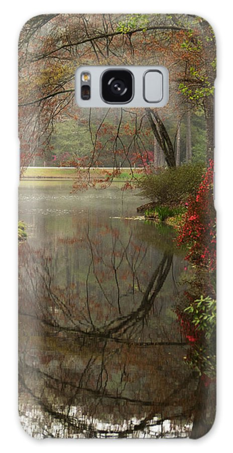 Callaway Galaxy S8 Case featuring the photograph Peace In A Garden by Kathy Clark