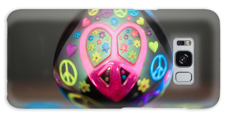 Reflection Galaxy S8 Case featuring the photograph Peace Love Spoon by Aaron Aldrich