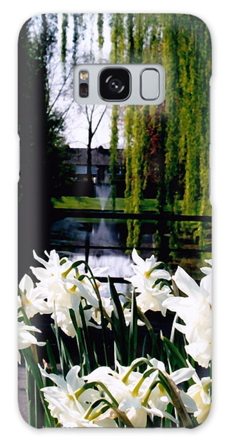 Canal Galaxy S8 Case featuring the photograph Peaceful Canal by Glenn Aker