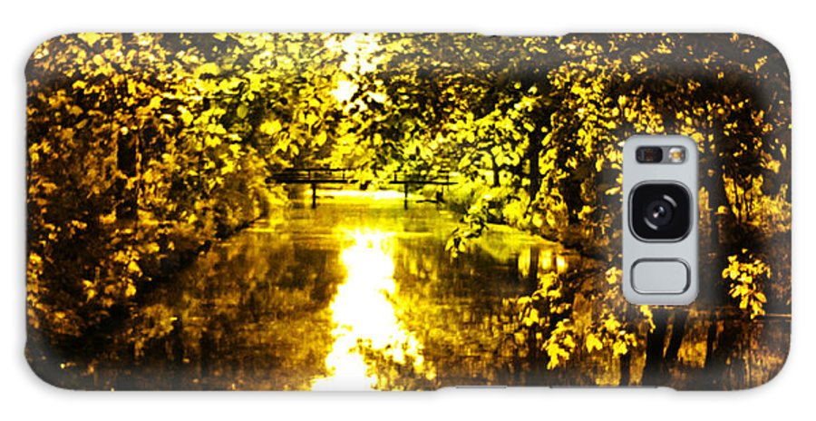 Nature Galaxy S8 Case featuring the photograph Peaceful Day In Summer by Yvon van der Wijk