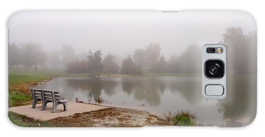 Peaceful Foggy Morning Marr Park Galaxy S8 Case featuring the photograph Peaceful Foggy Morning Marr Park by Cynthia Woods