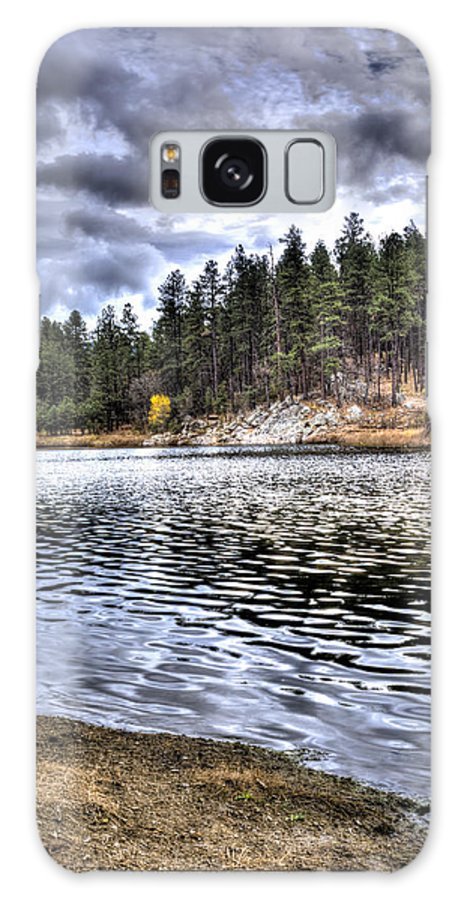 Lake Galaxy S8 Case featuring the photograph Peaceful Times by Ernest Moreno
