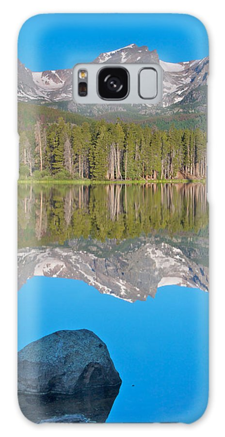 Rocky Mountain National Park Galaxy S8 Case featuring the photograph Peak Reflection by Kent Becker