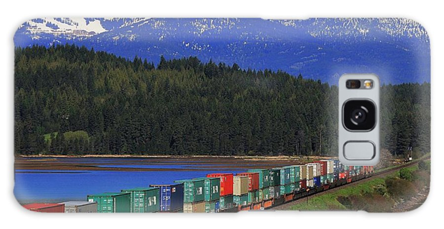 Idaho Galaxy S8 Case featuring the photograph Pend Oreille Freight by Benjamin Yeager