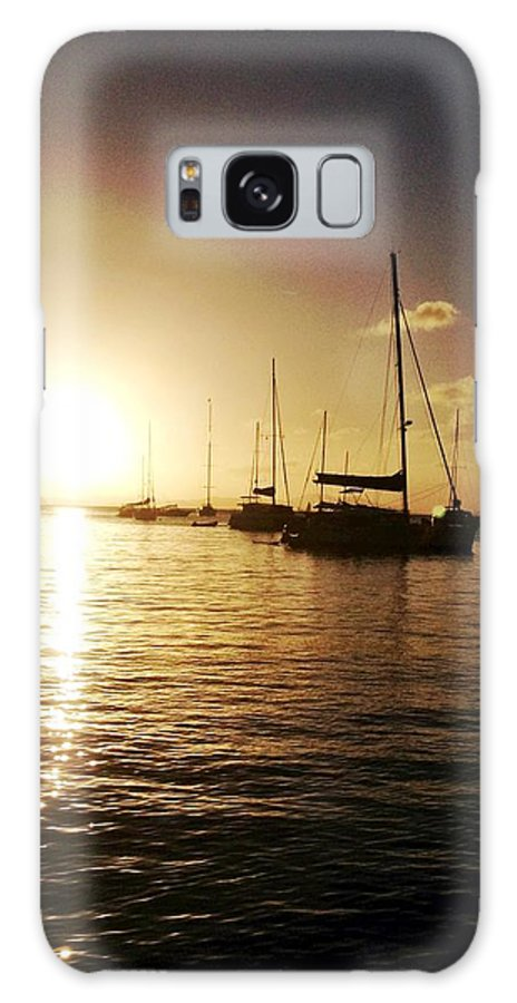 Sailboat Galaxy S8 Case featuring the photograph Perfect Ending by Duncan Molesworth