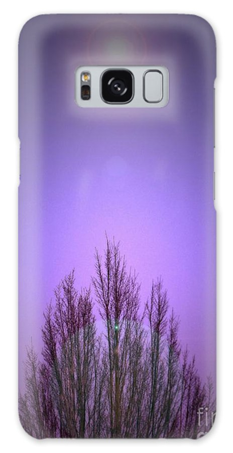 Layered Galaxy S8 Case featuring the photograph Perfectly Purple by Chris Anderson