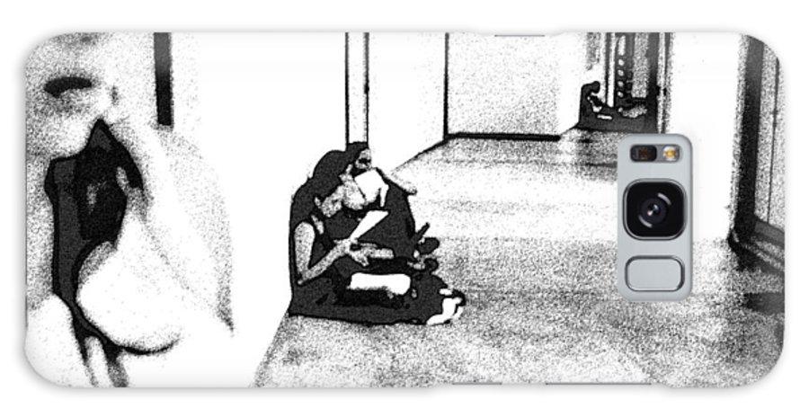 College Galaxy S8 Case featuring the photograph Perfil De Un Contexto / Profile Of A Context by Paula Flores