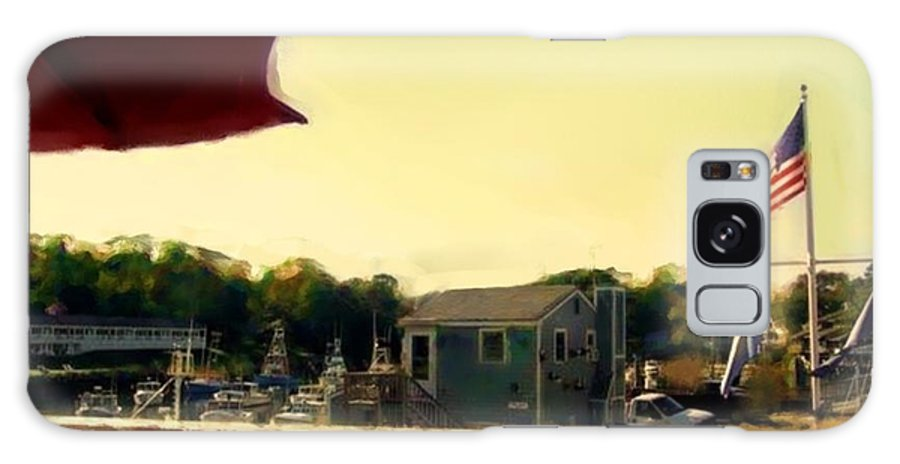 Fineartamerica.com Galaxy S8 Case featuring the painting Perkin's Cove - Ogunquit Me - Number 3 by Diane Strain