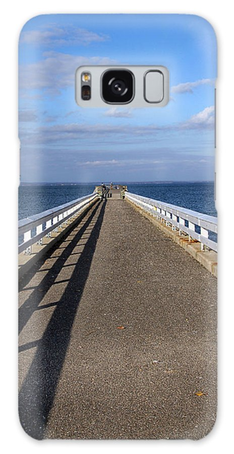 Perspective Galaxy S8 Case featuring the photograph Perspective Pier by Bob Slitzan