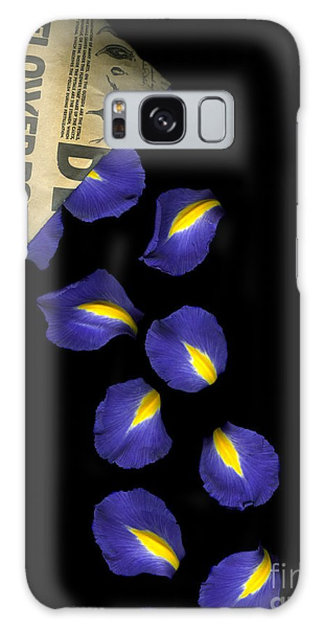 Scanography Galaxy S8 Case featuring the photograph Petal Chips by Christian Slanec