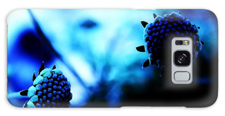 Blue Galaxy S8 Case featuring the photograph Petalless by Jessica Shelton