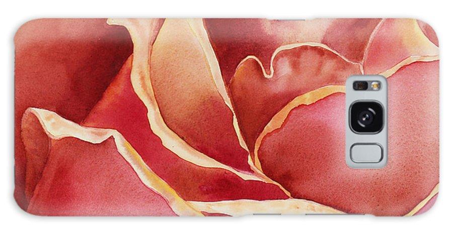 Roses Galaxy S8 Case featuring the painting Petals Petals I by Irina Sztukowski