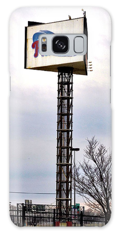 Phillies Galaxy S8 Case featuring the photograph Phillies Stadium Sign by Bill Cannon