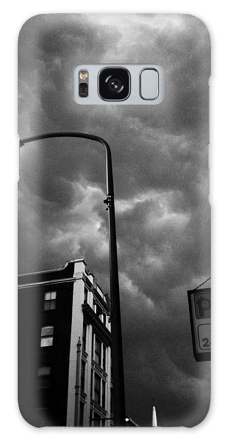 Street Scape Galaxy S8 Case featuring the photograph Philly by Carol Brunner
