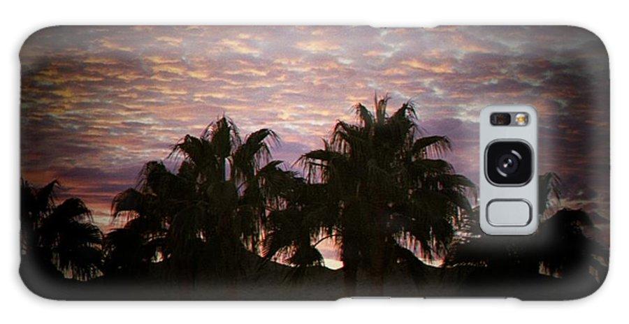 Sunset Galaxy S8 Case featuring the photograph Phoenix Sunset by Brandi Maher