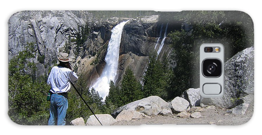 El Capitan Galaxy S8 Case featuring the photograph Photographer At Yosemite National Park by Stephen Haunts