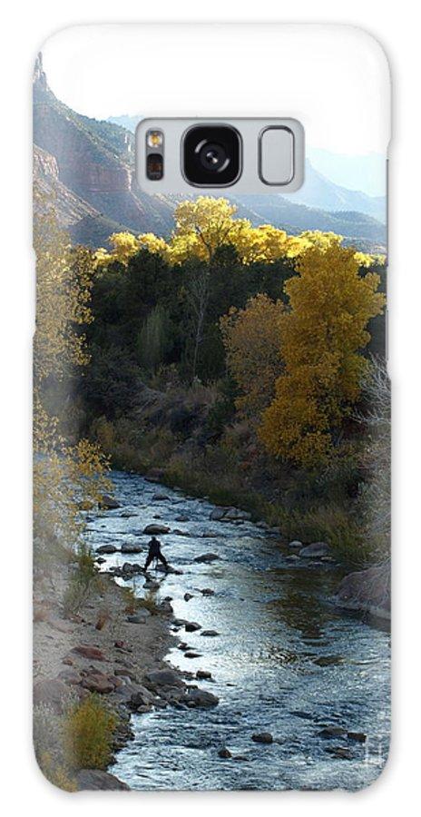 National Park Galaxy S8 Case featuring the photograph Photographing Zion National Park by Jacklyn Duryea Fraizer