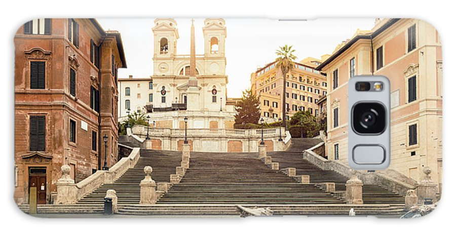 Steps Galaxy Case featuring the photograph Piazza Di Spagna, Spanish Steps, Rome by Spooh