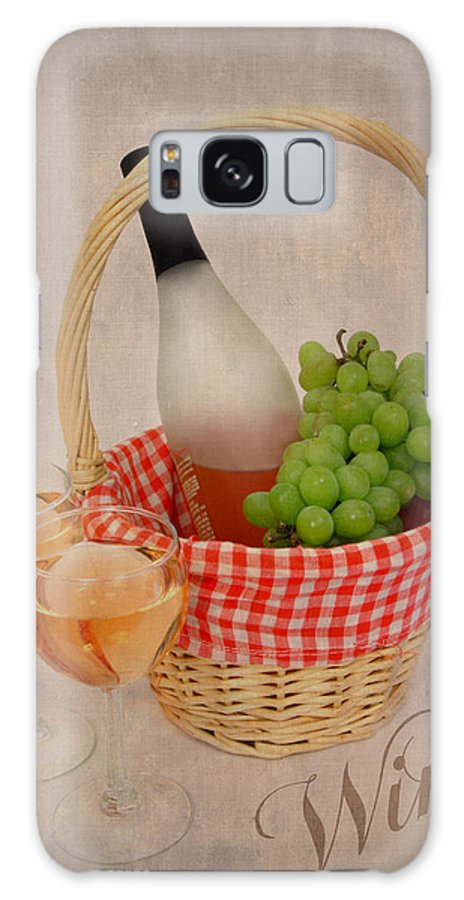 Wine Galaxy S8 Case featuring the photograph Picnic by Cindy Haggerty