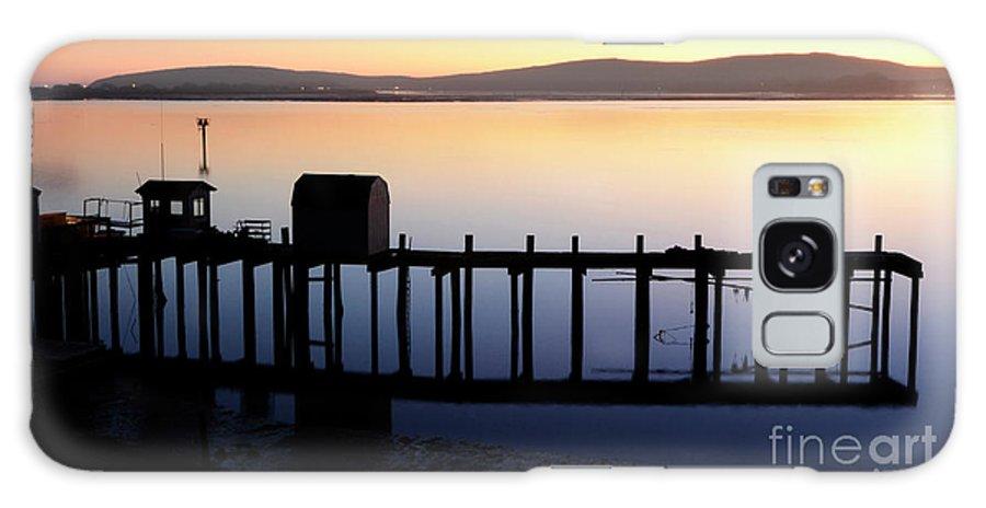 California Galaxy S8 Case featuring the photograph Pier At Bodega Bay California by Bob Christopher