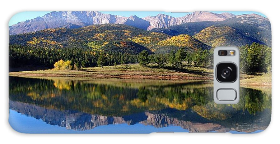 Fall Galaxy S8 Case featuring the photograph Pikes Peak by Carol Milisen