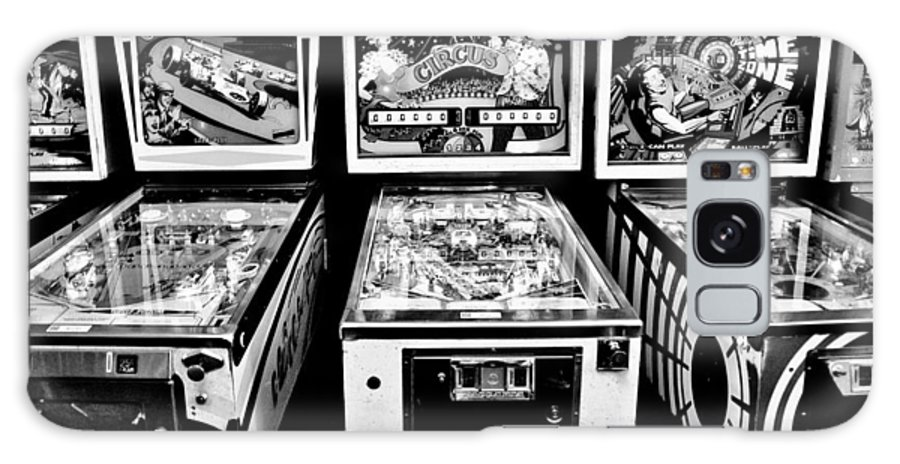 Pinball Galaxy S8 Case featuring the photograph Pinball Memories by Benjamin Yeager