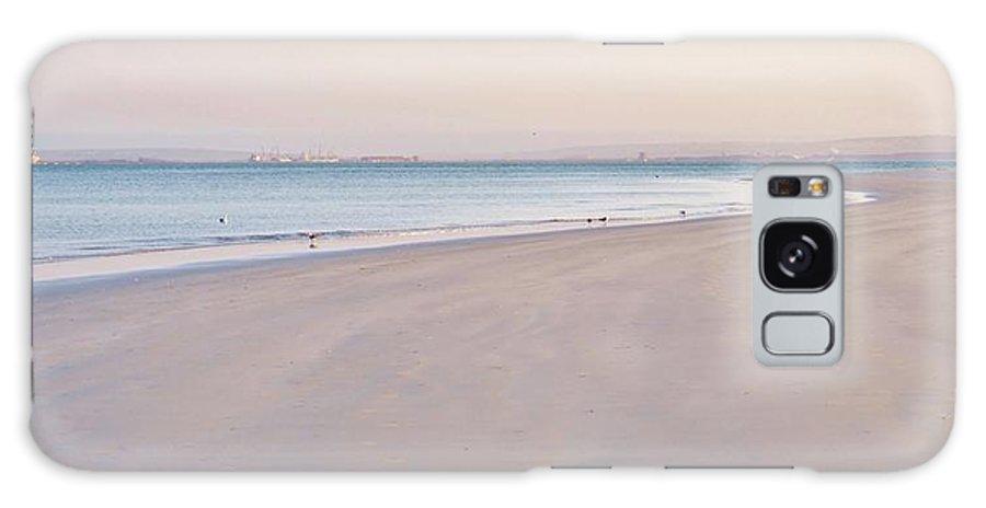 Langebaan Lagoon; Beach; Seascape; South Africa; West Coast; Atlantic Ocean; Blue; Sand; Background; Decorative; Water; Sea; Sky; Sunrise; Landscape; Galaxy S8 Case featuring the photograph Pink Hour... by Werner Lehmann
