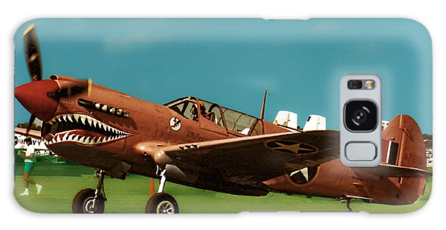 Curtis P-40 Warhawk Galaxy S8 Case featuring the photograph Pink Tiger by Tommy Anderson