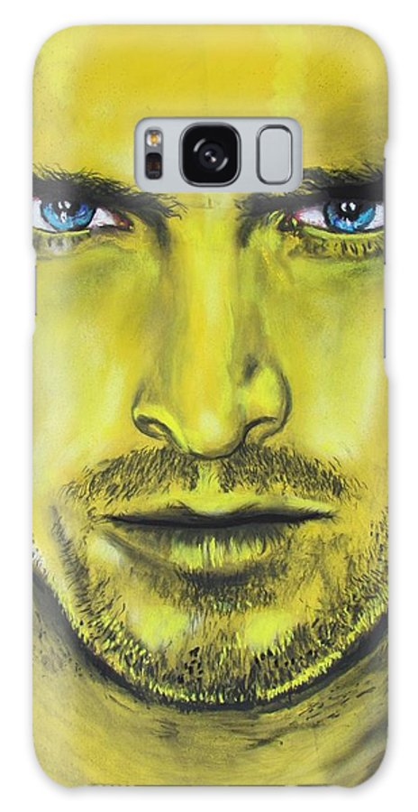 Jesse Pinkman Galaxy S8 Case featuring the drawing Pinkman - Breaking Bad by Eric Dee