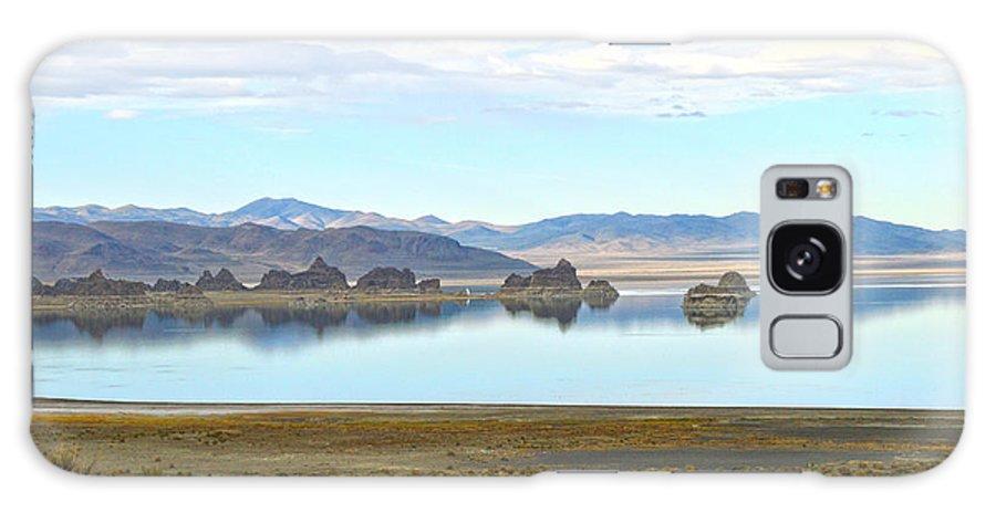 Pyramid Lake Photographs Galaxy S8 Case featuring the photograph Pinnacles by Mayhem Mediums