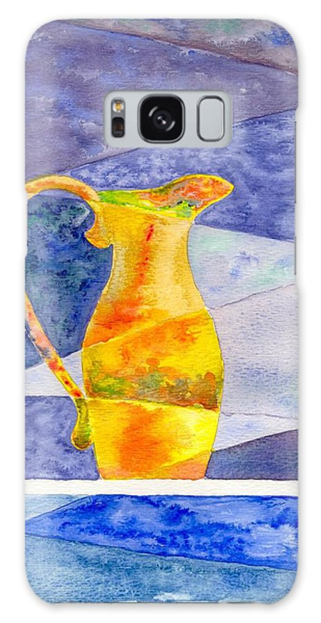 Still Life Galaxy S8 Case featuring the painting Pitcher 1 by Micah Guenther