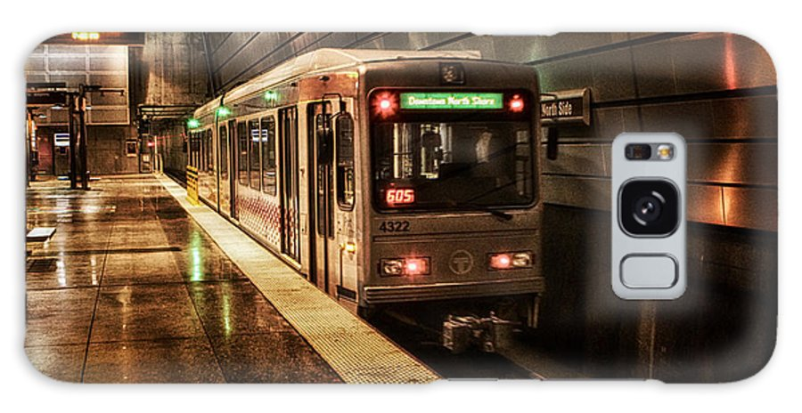 Pittsburgh Galaxy S8 Case featuring the photograph Pittsburgh Subway by Rich Wise