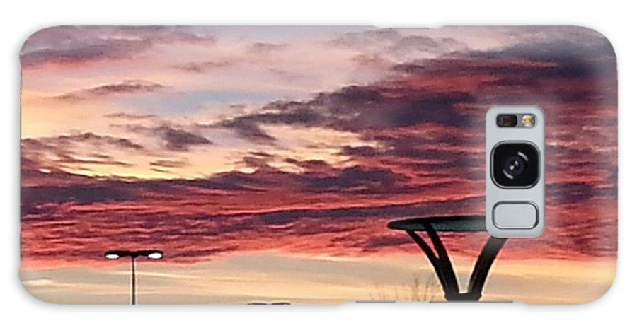 Sunset Landscape Galaxy S8 Case featuring the photograph 'plainfield Sunset II by Steven Stewart
