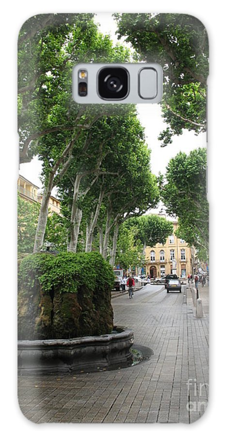 Plane Galaxy S8 Case featuring the photograph Plane Alley - Aix En Provence by Christiane Schulze Art And Photography