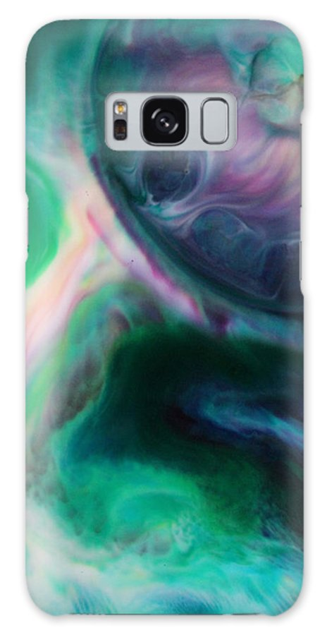 Planet Galaxy S8 Case featuring the mixed media Planet B by Lucy Matta - LuLu