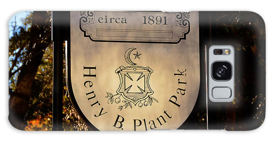 Henry B Plant Galaxy S8 Case featuring the photograph Plant Park Since 1891 by David Lee Thompson