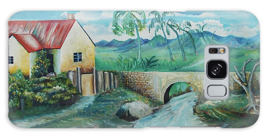 Johnpowellpaintings Galaxy S8 Case featuring the painting Plantation 1 by John Powell