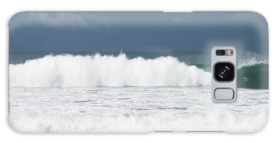Sky Galaxy S8 Case featuring the photograph Playa Hermosa Wave Number Three Central Pacific Coast Costa Rica by Michelle Constantine