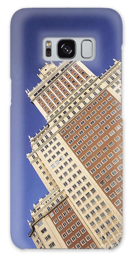 Spain Galaxy S8 Case featuring the photograph Plaza Espana Madrid by James Brunker