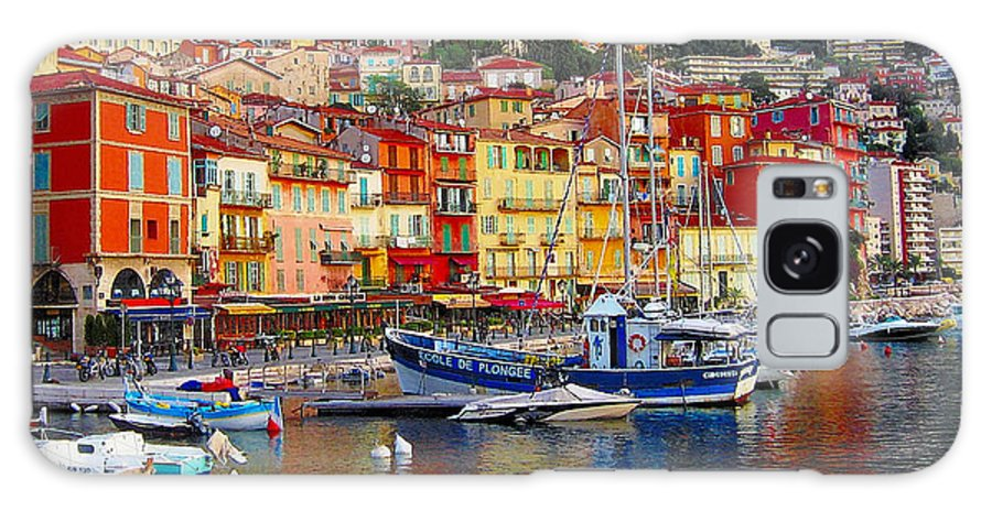 Meditteranean Galaxy S8 Case featuring the photograph Plongee At Villefranche by Jim Southwell