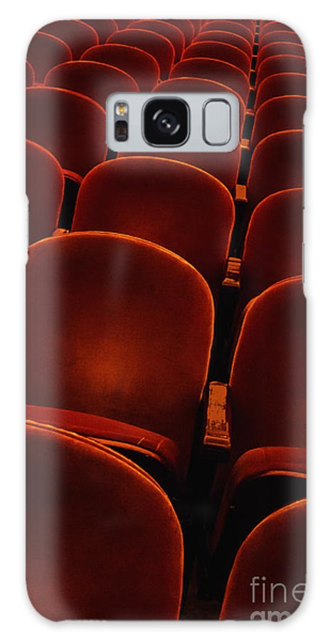 Chairs Galaxy S8 Case featuring the photograph Plush by Margie Hurwich